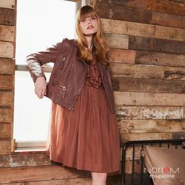 ALYSI|ドレス(08255005) NorieM magazine #34 P38掲載